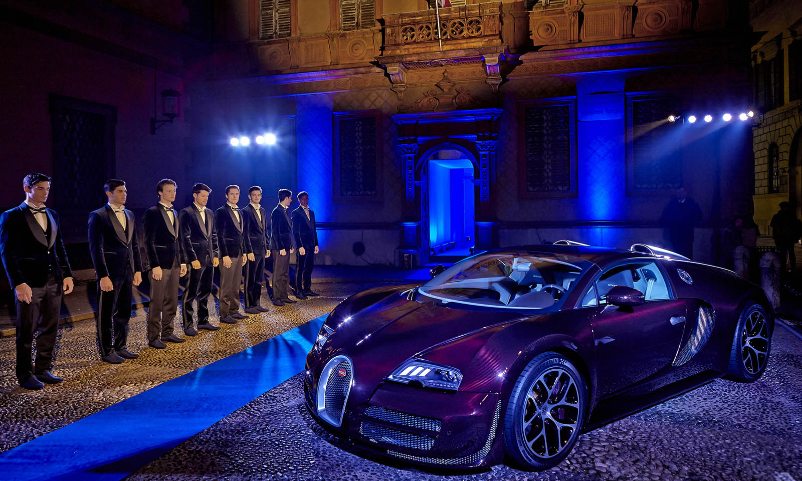 Bugatti and L'Uomo Vogue