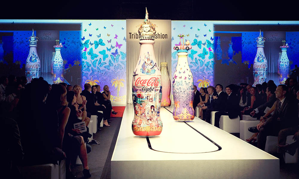 Cocacola Tribute to Fashion