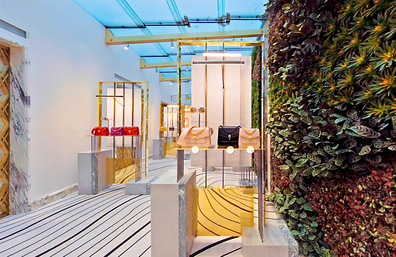 Bulgari virtual showroom